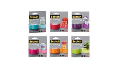 Taśma kolorowa SCOTCH 3M 19mm x 7,62m