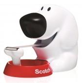 Dyspenser do taśm 3M SCOTCH w kształcie psa + taśma GRATIS C31-DOG