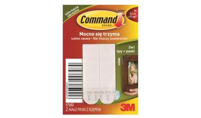 Rzepy COMMAND do obrazów małe 17202PL (2szt.)