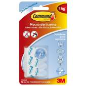 Paski COMMAND przeźroczyste wymienne (12szt) 17024CLR PL