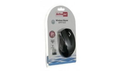 Mysz optyczna ACTIVE JET AMY-010 bezprzewodowa czarno/szara