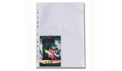 Koszulki na zdjęcia ESSELTE A4 4x(10x15) (10szt) 78001