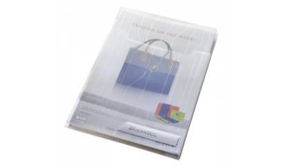 Folder LEITZ CombiFile A4 poszerzany (3szt) przeźroczysty 47270003