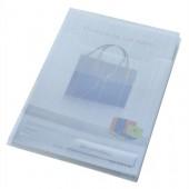Folder LEITZ CombiFile A4 poszerzany (3szt) niebieski 47270035