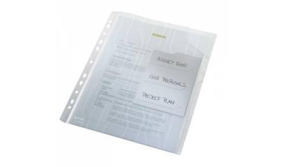 Folder LEITZ CombiFile A4 z przekładkami (3szt) przeźroczysty 47290003