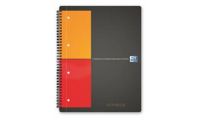 Kołonotatnik OXFORD ACTIVEBOOK A4+/80k kratka 001401