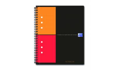 Kołonotatnik OXFORD NOTEBOOK A5+/80k kratka 001211