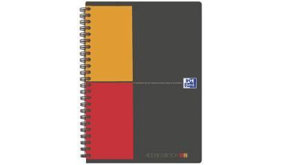 Skorowidz tele-adresowy na spirali OXFORD INTERNATIONAL A5/80k okładka PP 001810