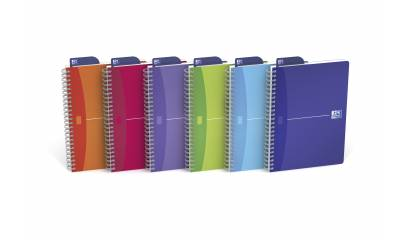 Kołonotatnik OXFORD My Colours A4/90k kratka 2930