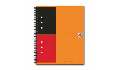 Brulion OXFORD NOTEBOOK A4/80k linia 001302