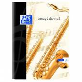 Zeszyt do nut OXFORD A4/32k 100302252