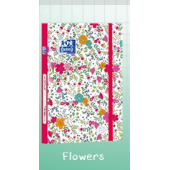 Kalendarz OXFORD BTS Flowers 12x18 400072885