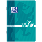 Zeszyt szkolny OXFORD Historia A5 / 60 kartek w kratkę, okładka laminowana 400092588