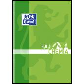 Zeszyt szkolny OXFORD Chemia A5 / 60 kartek w kratkę, okładka laminowana 400092590