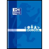 Zeszyt szkolny OXFORD Biologia A5 / 60 kartek w kratkę, okładka laminowana 400092591