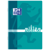 Zeszyt szkolny OXFORD Język angielski A5 / 60 kartek w kratkę, okładka laminowana 400092594
