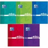 Brulion szkolny OXFORD Biologiai A5 / 80 kartek kratka, okładka laminowana 400128286