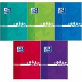 Brulion szkolny OXFORD Chemia A5 / 80 kartek kratka, okładka laminowana 400128285