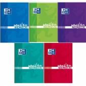 Brulion szkolny OXFORD Język Niemiecki A5 / 80 kartek kratka, okładka laminowana 400150855
