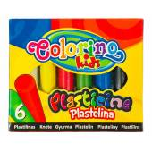 Plastelina COLORINO Kids kpl. 6kol. 13871PTR