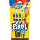 PATIO Farby w pędzelkach COLORINO Kids 5 kolorów  53764