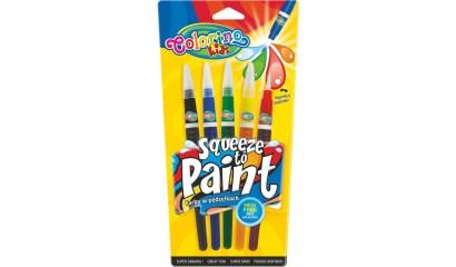 PATIO Farby w pędzelkach COLORINO Kids 5kol. 53764