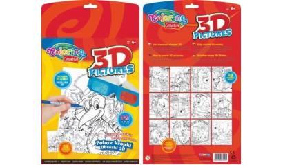PATIO Magiczna książeczka CREATIVE COLORINO połącz kropki 31905