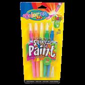 Farby w pędzelku COLORINO Kids 5kol. neon 32148PTR