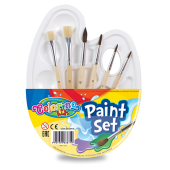 Zestaw do malowania COLORINO Kids z paletką 68710PTR