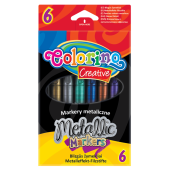 Markery metalizowane COLORINO Kids (6kol) 32582PTR
