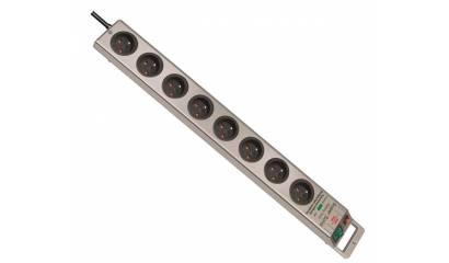Listwa zasilająca BRENNENSTUHL Super Solid z wyłącznikiem 8gn 2,5mb srebrny