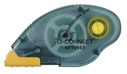 Klej w taśmie Q-CONNECT usuwalny 6,5mm x 10m KF10943