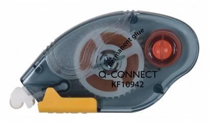 Klej w taśmie Q-CONNECT permanentny 6,5mm x 10m KF10942