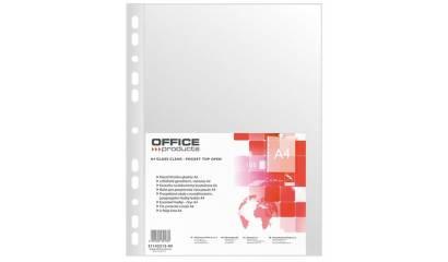 Koszulka krystaliczna OFFICE PRODUCTS A4 40min (100szt) 21142215-90