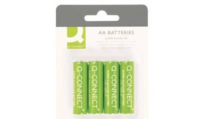 Baterie alkaliczne Q-CONNECT AA LR06 (4szt) KF00489