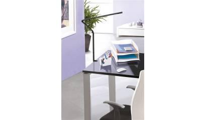 Lampka na biurko CEP CLED-510, 11, 2W ze ściemniaczem, mocowana zaciskiem, czarna CLED0510-05