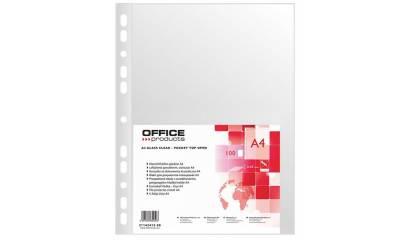 Koszulka krystaliczna OFFICE PRODUCTS A4 50mic (100szt) 21142415-90