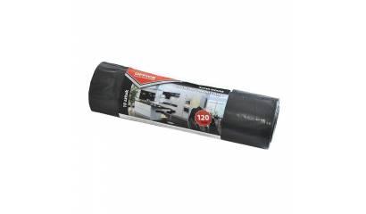 Worki na śmieci OFFICE PRODUCTS super mocne LDPE czarne 120L (10szt)
