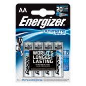 Bateria ENERGIZER alkaliczna ultimate FR6 AA 1,5V (4szt)