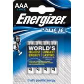 Bateria ENERGIZER alkaliczna ultimate FR03 AAA 1,5V (4szt)