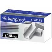 Zszywki KANGARO galwanizowane 24/8 (1000szt) KA24/81M