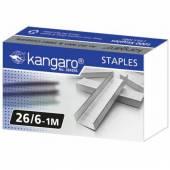 Zszywki KANGARO galwanizowane 26/6 (1000szt) KA26/61M