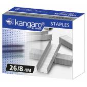 Zszywki KANGARO galwanizowane 26/8 (1000szt) KA26/81M