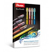 Długopis żelowy PENTEL K110 Dual Metallic kpl. 4 kolory