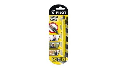 Długopis PILOT Down Force żółta obudowa