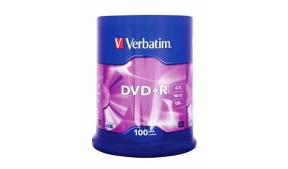Płyta DVD+R VERBATIM 4,7GB cake (100)