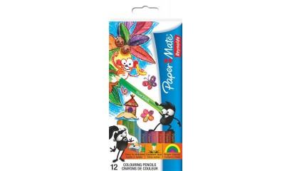 Kredki ołówkowe PAPER MATE Globcolor kpl.12szt S0689671