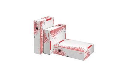 Pudło archiwizacyjne ESSELTE SPEEDBOX 80mm białe 623985