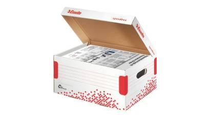 Kontener otwierany z góry ESSELTE SPEEDBOX rozmiar A4 biały 623911