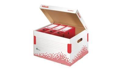 Kontener na segregatory ESSELTE SPEEDBOX (5x75mm) biały 623914